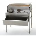 Podstavec grilov Charcoal so zásuvkou na drevené uhlie