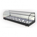 Stolná chladená vitrína ONIX R6 2P čierna