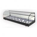 Stolná chladená vitrína ONIX R8 2P čierna