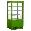 Chladiaca vitrína cukrárska, štvorstranne presklená SC 70 GREEN (330-1004)