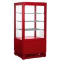Chladiaca vitrína cukrárska, štvorstranne presklená SC 70 RED (330-1003)