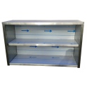 Závesná nerezová skrinka otvorená, rozmer (dxhxv): 600 x 300 x 600 mm