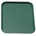 Podnos jedálenský, farba zelená, 36 x 46 cm