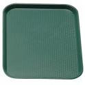 Podnos Fast Food, farba zelená, 30 x 41 cm
