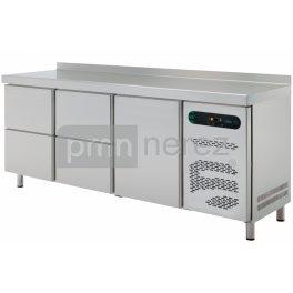 Chladiaci stôl Asber ETP-6-200-14 (4x zásuvka, 1x dvere)