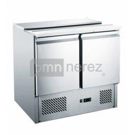 Chladiaci stôl Saladeta MS-900gr (2x dvere / 900 mm)