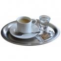 Tácka na kávu nerezový, 203 x 145 mm
