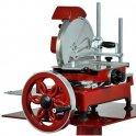 Nářezový stroj mechanický Retro Flywheel 250/14 červený, krájení prosciutto